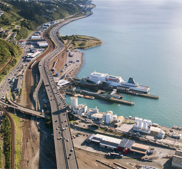 Changes to Wellington Ferry Terminal